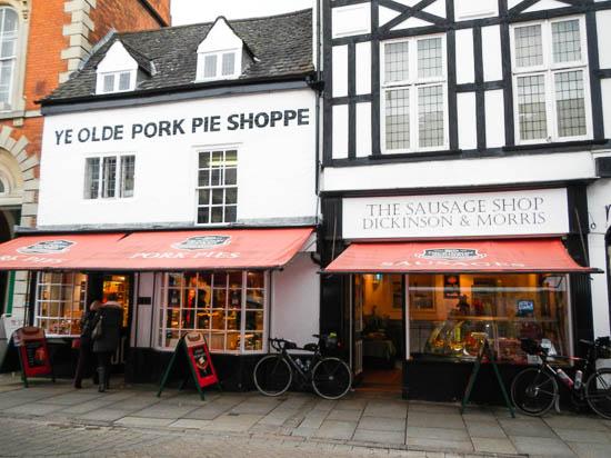 11e71eb158396 The destination of this ride — Ye Olde Pork Pie Shoppe in Melton Mowbray